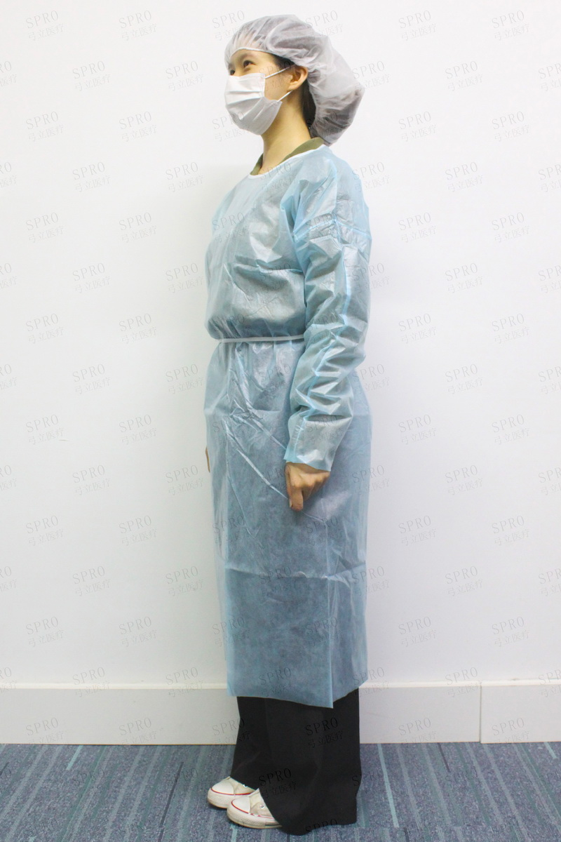 Isolation gown(PP+PE)